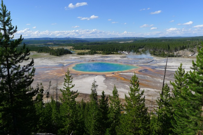 Grand Prismatic Spring, Yellowstone National Park, WY